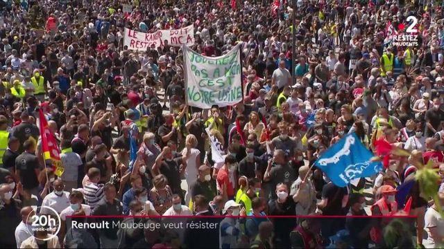 Fermeture d'usines Renault : les salariés de Maubeuge veulent résister
