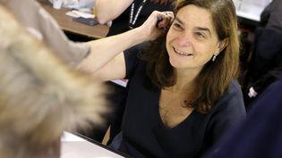 Héloïse d'Ormesson, la fille de l'écrivain Jean D'Omesson,le 7 novembre 2014 à Brive-la-Gaillarde. (DIARMID COURREGES / AFP)