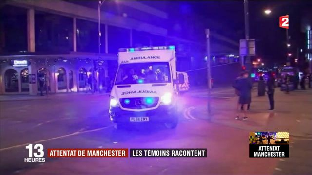 Attaque à Manchester : les témoins racontent