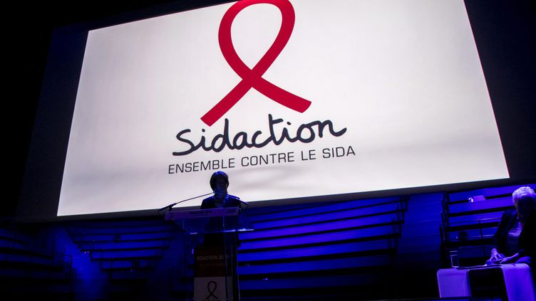 L'édition 2018 du Sidaction s'est achevéele 25 mars 2018sur un bilan de 4,4 millions d'euros de promesses de dons. (MAXPPP)
