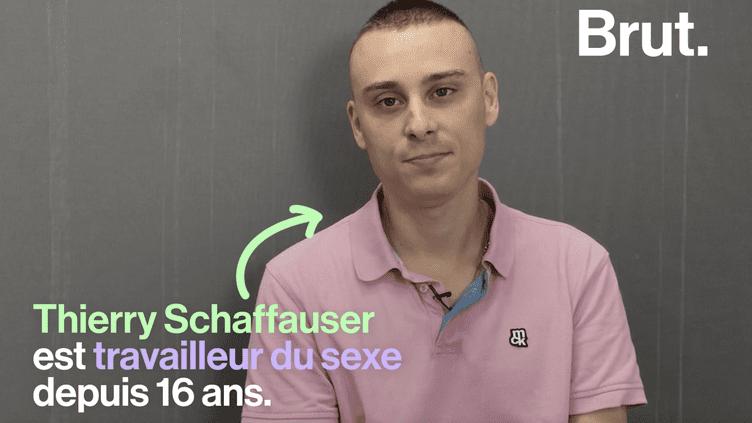 VIDEO. Le témoignage édifiant de Thierry Schaffauser, travailleur du sexe depuis 16 ans (BRUT)