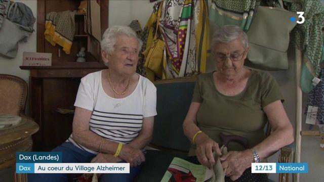 """Dax : à la découverte du """"Village Alzheimer"""""""