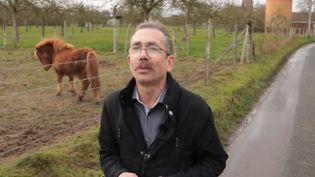 Benoit Hennart est le maire du village de Quittebeuf, commune de 650 habitants dans l'Eure. Il va se présenter pour un troisième mandat lors des municipales de 2020. (FRANCE 3)