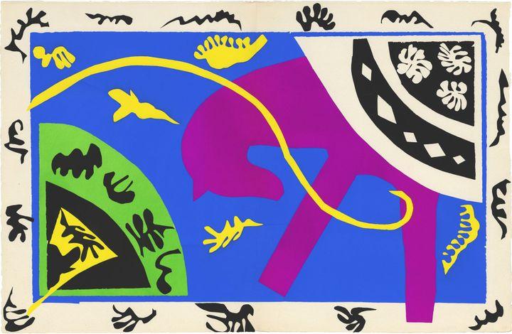 Matisse Sculpte La Couleur Avec Des Ciseaux Les Decoupages A La Tate Modern