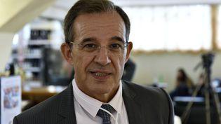 L'ancien député des Français de l'étranger Thierry Mariani, à Yalta, en Crimée, le 11 juin 2017. (ALEXANDR POLEGENKO / SPUTNIK / AFP)