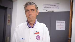 Le Professeur Eric Caumes, chef de service des maladies infectieuses de l'hôpital de la Pitié-Salpêtrière. (MAXPPP)