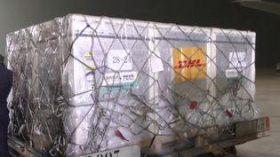 Livraison de vaccins contre le Covid-19 au Sénégal. (FRANCEINFO)