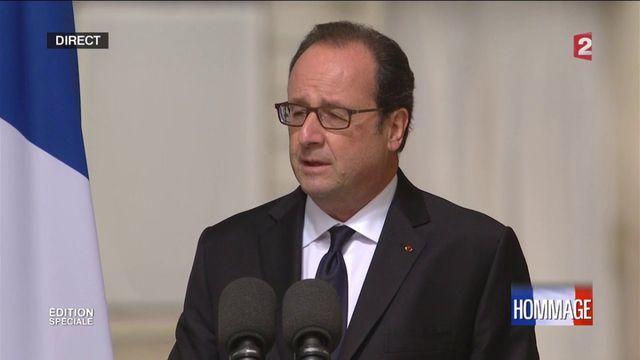 Regardez le discours de François Hollande en hommage aux victimes du terrorisme
