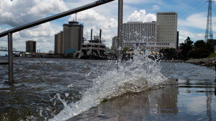 Sur les rives du Mississippi, à La Nouvelle-Orléans (Louisiane, Etats-Unis), le 11 juillet 2019. (MATTHEW HATCHER / SOPA IMAGES / SIPA USA / SIPA)