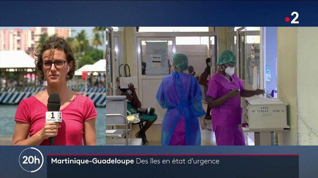 Covid-19 : l'état d'urgence sanitaire de nouveau instauré aux Antilles