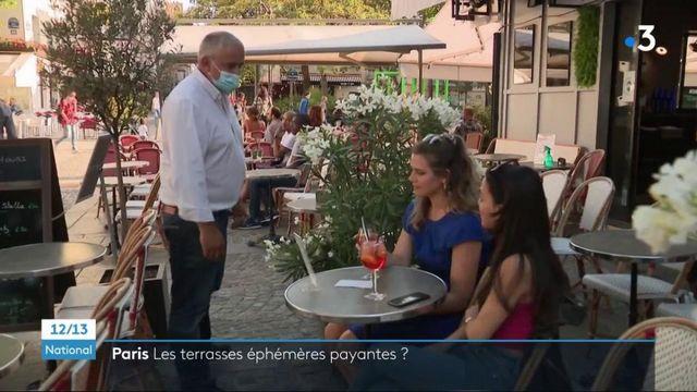 Paris : les terrasses éphémères payantes dès cet été pour les restaurateurs ?