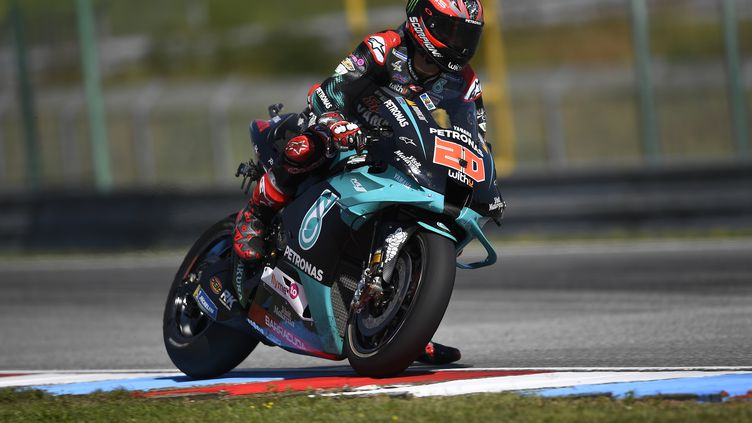 Fabio Quartararo (Yamaha) lors du Grand Prix de République tchèque (GIGI SOLDANO / DPPI MEDIA)