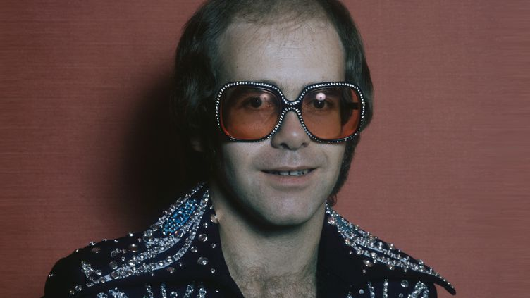Elton John en 1975.  (Terry O'Neill/Hulton Archive/Getty Images)