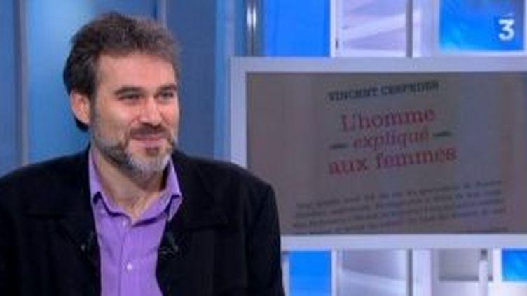 """""""L'homme expliqué aux femmes"""" selon Vincent Cespedes  (Culturebox)"""