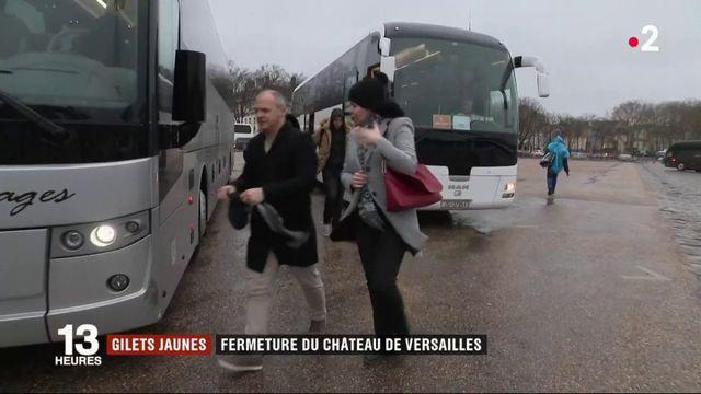 gilets jaunes : fermeture du château de Versailles