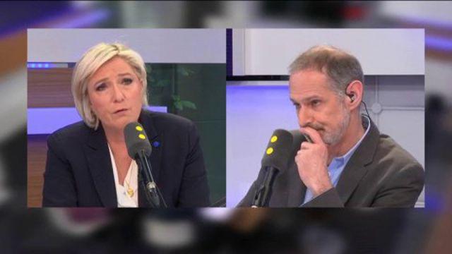 """Vel d'Hiv : """"Mes grands-parents ont été raflés"""" : la question personnelle de Gilles Bornstein à Marine Le Pen"""