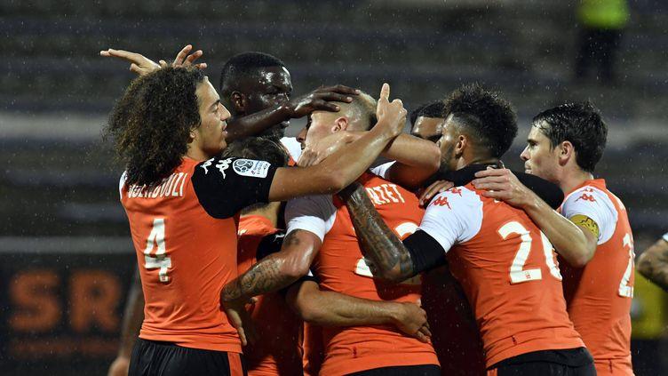 Lorient retrouve le podium de la Ligue 2