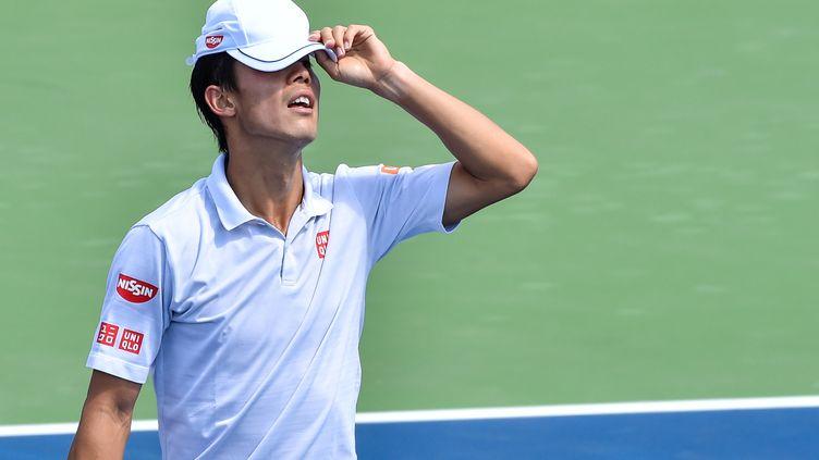 Fin de saison pour Kei Nishikori (MINAS PANAGIOTAKIS / GETTY IMAGES NORTH AMERICA)