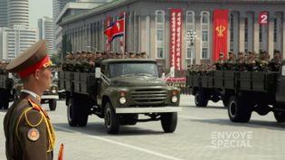VIDEO. En Corée du Nord, marcher au pas ou finir dans un camp (CAPTURE D'ECRAN FRANCE 2 / FRANCETV INFO)