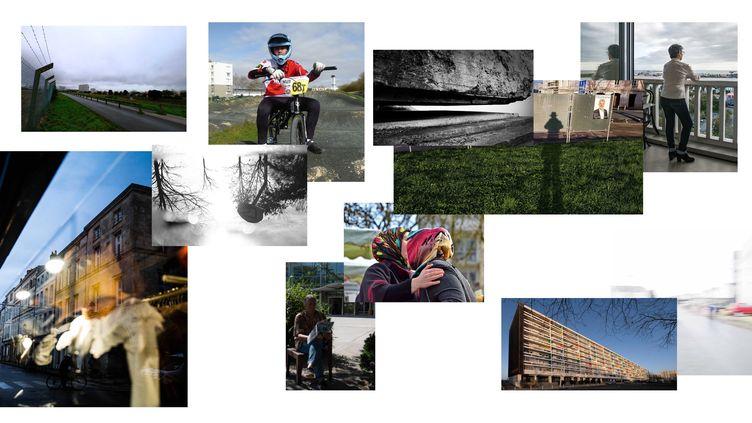 """Exposition """"Traces urbaines"""" dans les quartiers de La Rochelle (Traces urbaines)"""
