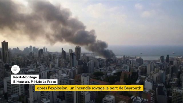 Beyrouth explosion