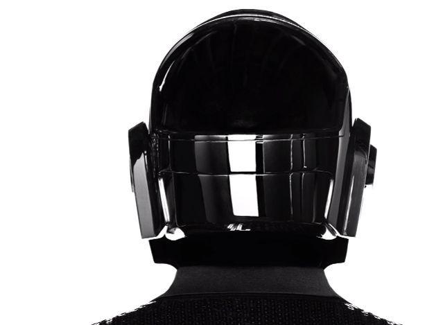 Costume de scène dessiné par Hedi Slimane pour Daft Punk 2013.  (Saint Laurent Music Project / Daft Punk)