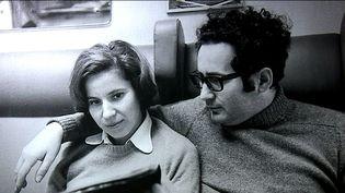 Beate et Serge Klarsfeld, une photo de l'exposition de Nice  (France 3 Culturebox Capture d'écran)