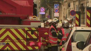 Explosion à Bordeaux. (FRANCE 2)