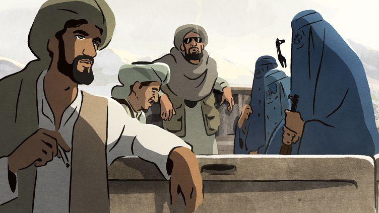 """""""Les Hirondelles de Kaboul"""", film d'animations en salles le mercredi 4 septembre. (Les Armateurs)"""
