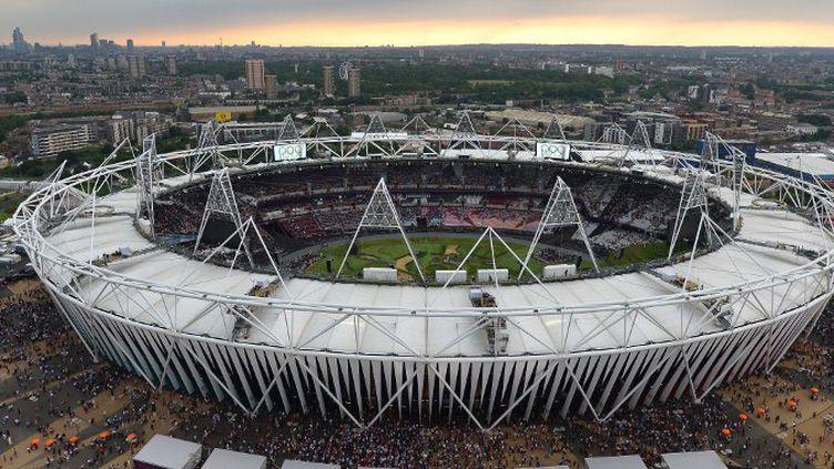 Le Stade Olympique de Londres (ALBERTO PIZZOLI / AFP)