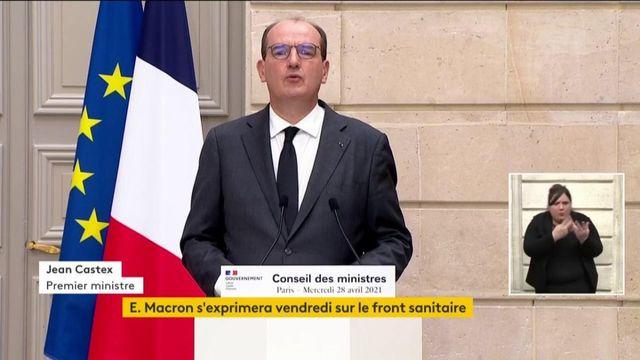 """Sortie de crise : Jean Castex évoque un """"régime transitoire"""" et un """"devoir de vigilance sanitaire"""""""