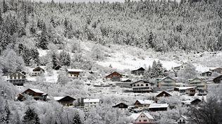 Gérardmer (Vosges) sous la neige, le 1er février 2018. (MAXPPP)