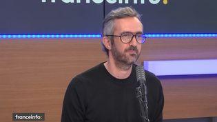 Guillaume Lacroix, l'un des fondateurs de Brut, le 4 décembre 2020. (FRANCE INFO / RADIO FRANCE)