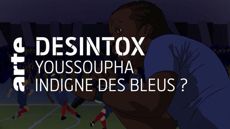 Le rappeur Youssoupha n'a pas été condamné pour menaces de crimes et injure publique à l'encontre d'Éric Zemmour (ARTE/2P2L)