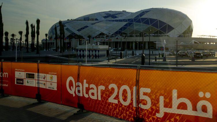 Le Lusail Multipurpose Hall, qui accueillera la finale des Mondiaux de handball, à Doha (AXEL HEIMKEN / DPA)