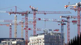 Un chantier dans Paris, en janvier 2017. (MAXPPP)