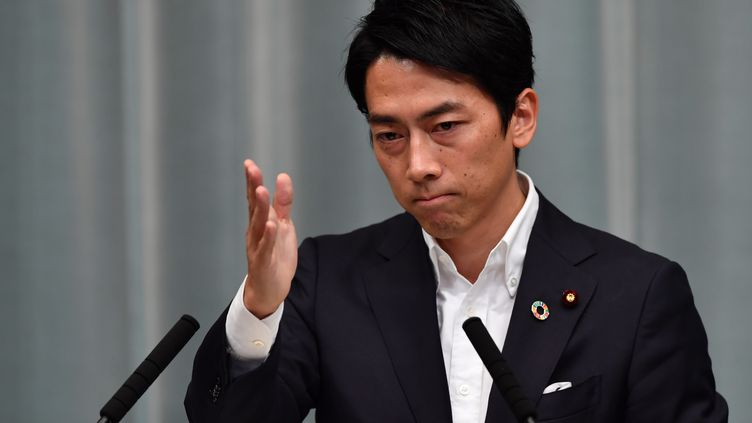 Shinjiro Koizumi, ministre de l'Environnement japonais. (TOSHIFUMI KITAMURA / AFP)