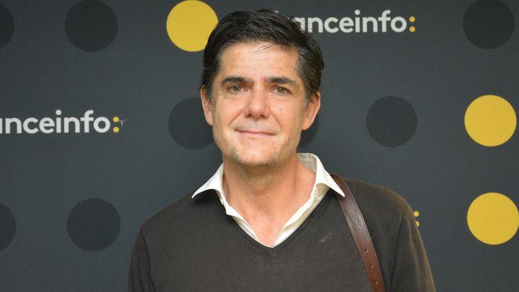 """Laurent Beccaria, éditeur de la revue XXI, co-organisateurdes """"RDV de juillet"""". (RADIO FRANCE / JEAN-CHRISTOPHE BOURDILLAT)"""