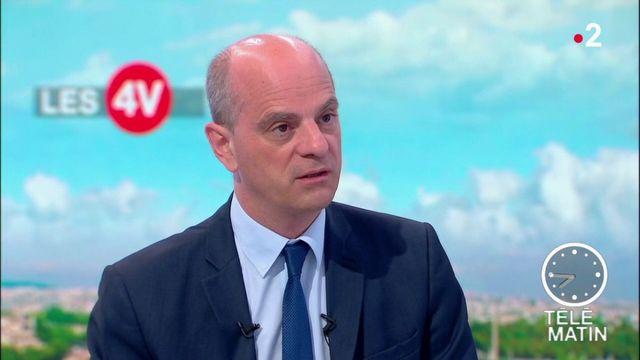 """Jean-Michel Blanquer : """"Ceux qui sont admis au baccalauréat ce matin seront certains de l'avoir"""""""