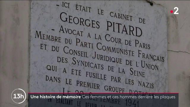 Histoire de mémoire : les plaques commémoratives ressorties de l'oubli