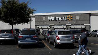 Un magasin Walmart à San Leandro, en Californie (Etats-Unis), le 3 septembre 2019. (JUSTIN SULLIVAN / GETTY IMAGES NORTH AMERICA / AFP)
