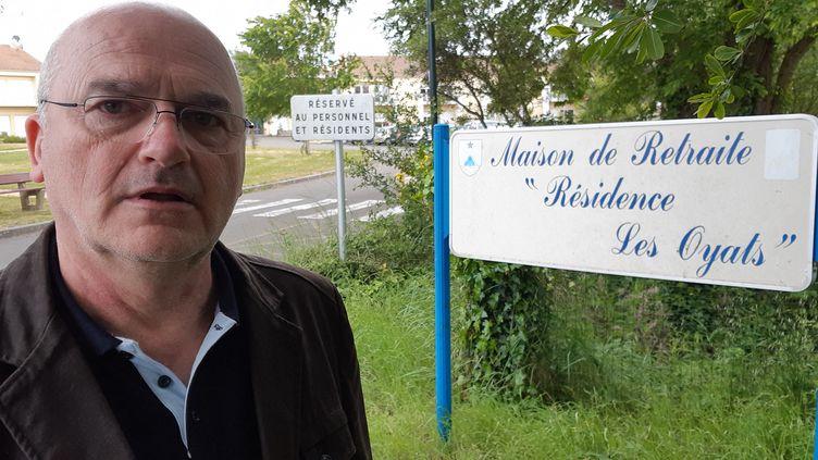 Marcellin Meunier menace de démissionner s'il n'obtient pas rapidement plus de moyens humains pour l'établissement qu'il coordonne. (MARC BERTRAND / FRANCE-BLEU LOIRE OCÉAN)