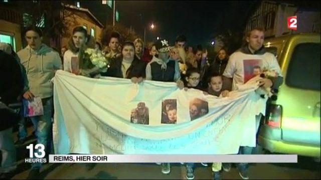 Reims : des centaines de personnes ont rendu hommage au petit Tony