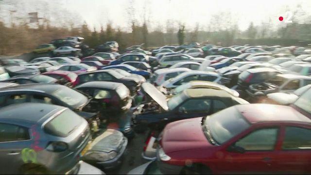 Les casses automobiles submergées à cause de la prime à la conversion