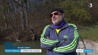 Yonnel Dervin, ancien salarié de France Télécom (France 3)