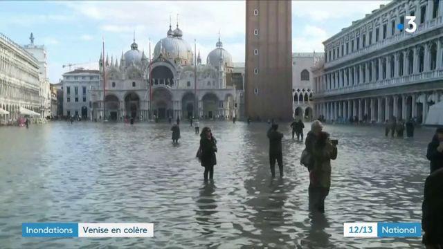 Inondations : les habitants de Venise sont en colère