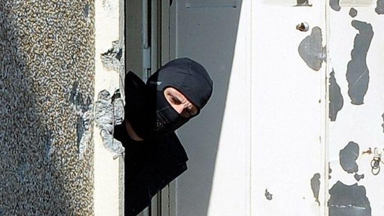 Un policier du Raid (AFP)