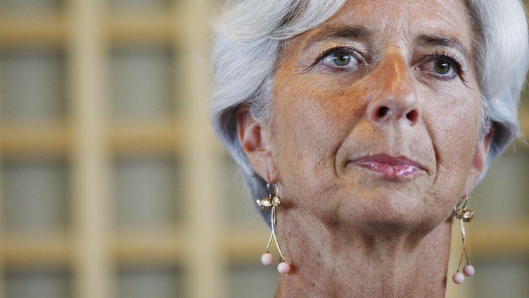 Christine Lagarde à Paris,le 30 juin 2011. (THOMAS SAMSON / AFP)