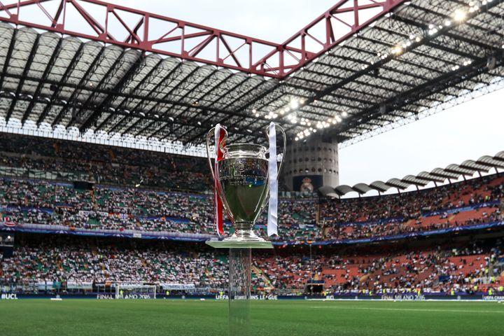 San Siro a accueilli sa dernière finale de Coupe d'Europe en 2016 (ANTON DENISOV / SPUTNIK)