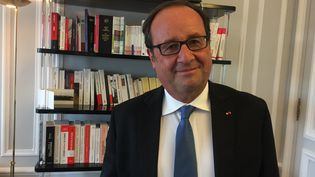 François Hollande, le 5 septembre 2017, à Paris. (FRANCEINFO / RADIOFRANCE)
